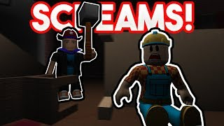 TERRIFYING SCREAMS! | ROBLOX: Flee the Facility