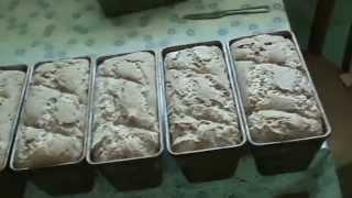 Мой способ выпекания бездрожжевого хлеба дома