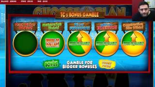 Playing Top Cat slot machine with real money(Starting with £500 in the bank, we are going to have 50 spins (£10 per spin) using real money. The game was actually going really well so we had an additional ..., 2016-06-15T16:33:45.000Z)