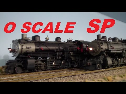 Rod Miller's O scale 2 Rail DOUBLE DECK SP Southern Pacific Model Railroad Layout