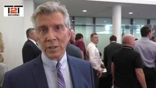 LEGENDARY RING ANNOUNCER MICHAEL BUFFER ON JEFF HORN'S CHANCES V PACCQUIAO
