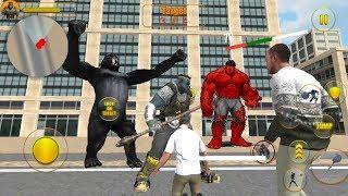 ► Gorilla Hero Future Battle Vice Town (Tap2Action) Amazing Monster Hero Vs Hulk Android Gameplay
