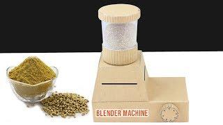 DIY Amazing Mini Blender Machine from cardboard at Home
