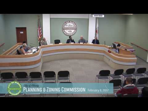 Planning & Zoning Commission - Feb. 8, 2017