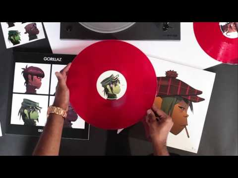 Gorillaz 'Demon Days', Vinyl Me, Please edition, unboxing video.
