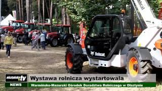 OlsztyńskaTV: Wystawa rolnicza wystartowała!
