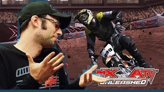 MX vs. ATV Unleashed (PS2 2005) - There