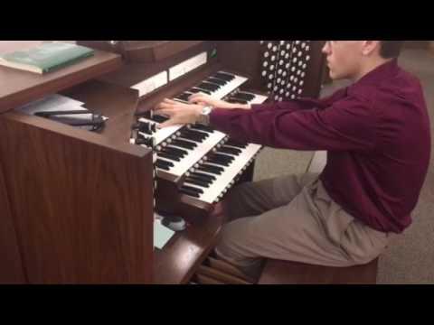 Mine Eyes Have Seen The Glory on Allen Organ