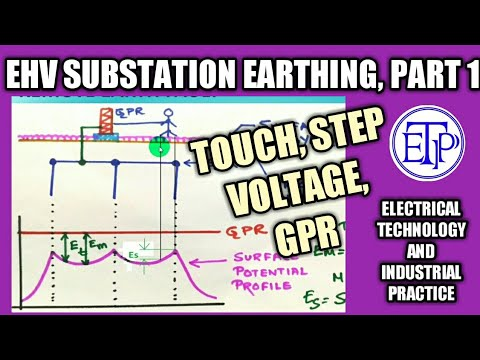 Extra High Voltage Substation Grounding|grounding Calculation|Touch Voltage|Step Voltage|GPR