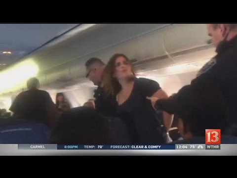 Thumbnail: Unruly passenger removed from flight diverted to Indianapolis