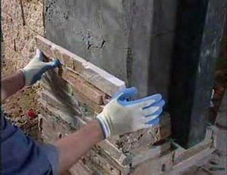 East West Stone Installation Video Pt 3 Custom Columns