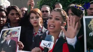 شاهد : الإضراب الذي نفده أكثر من 800 موظفي الخطوط الملكية المغربي