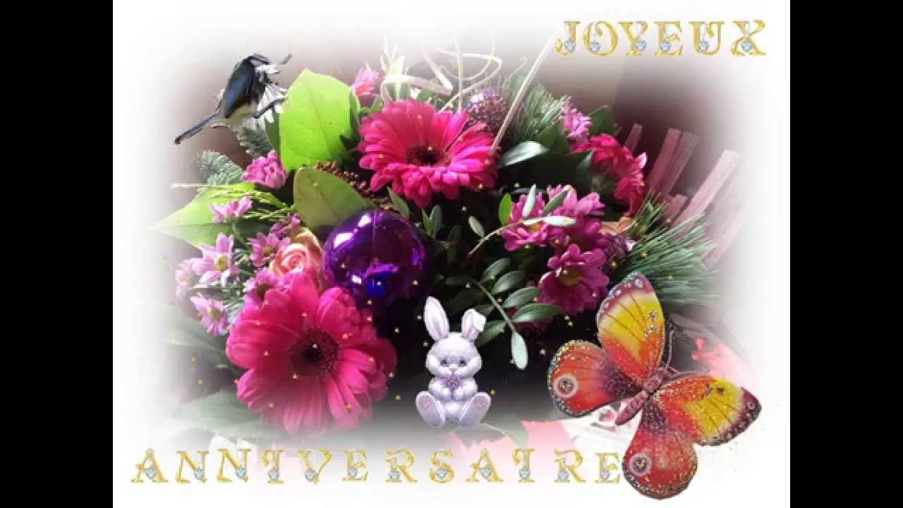Carte Animee Joyeux Anniversaire Cartes Virtuelles 565 Youtube