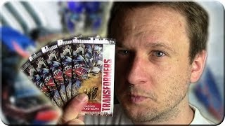 Transformers 4 Trading Card Game 5 Booster Unboxing