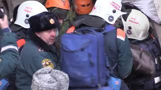 На месте обрушения в Магнитогорске найден живым ребёнок
