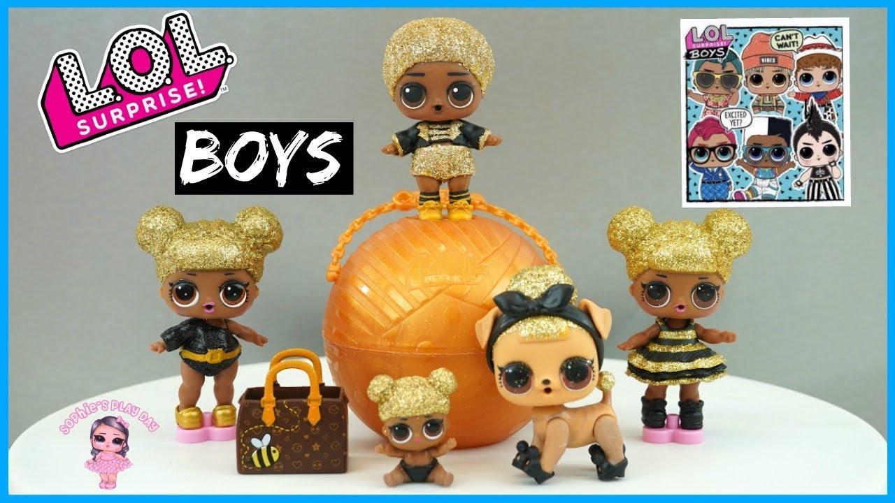 LOL Surprise Boys Series 1 L.O.L Boys Dolls Series 1 LOL Surprise Dolls