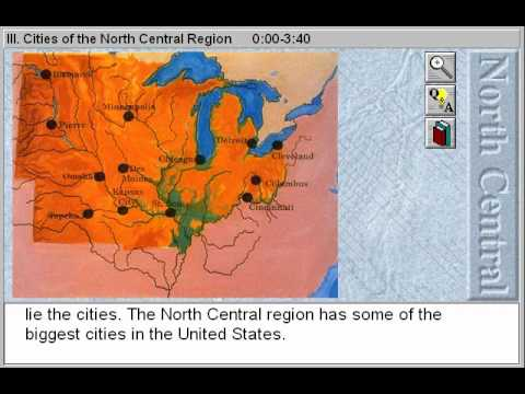The Midwest States: Cities of the North Central Region