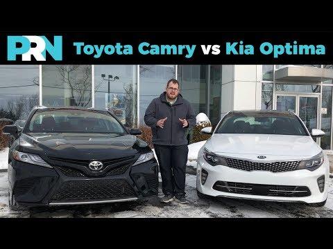 Toyota Camry vs Kia Optima | TestDrive Showdown
