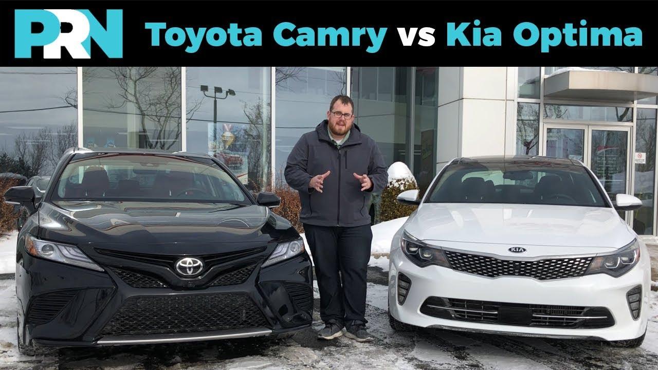 Toyota Camry Vs Kia Optima Testdrive Showdown