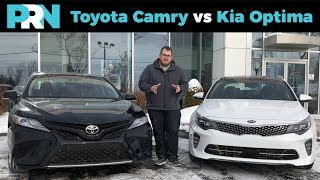 Toyota Camry vs Kia Optima | TestDrive Showdown