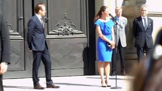 Kronprinsessan Victorias tal på Nationaldagen 2011