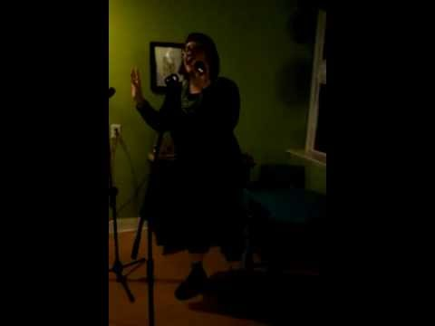 Karaoke at Blackbird Bakery: Loving You....