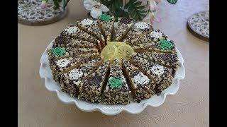 Супер торт за 5 минут Без Выпечки! ЗОЛОТОЙ КЛЮЧИК