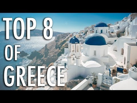 Top 8 MOST INCREDIBLE Places in GREECE! Travel Guide