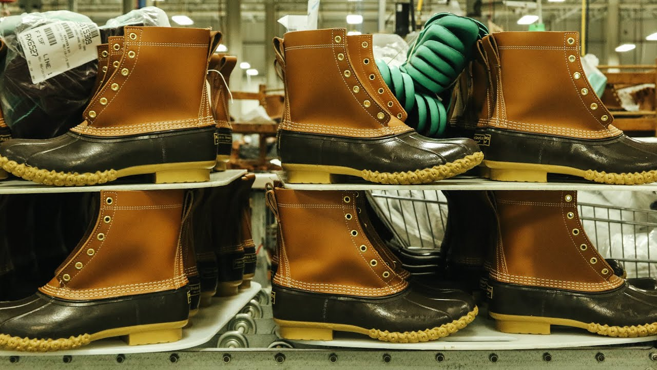 3305eb24 How L.L.Bean Makes Its Iconic Boots. Gear Patrol