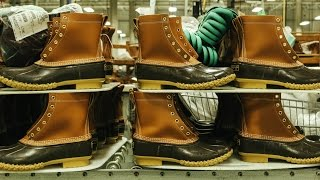 How L.L.Bean Makes Its Iconic Boots