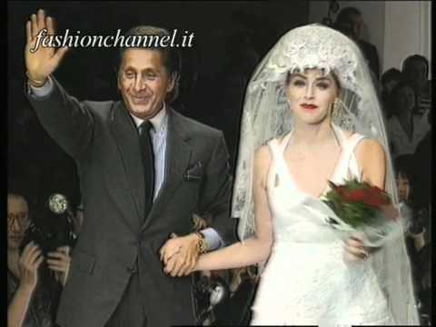"""SHARON STONE"" Exclusive Wedding Dress closing Valentino SS1994"