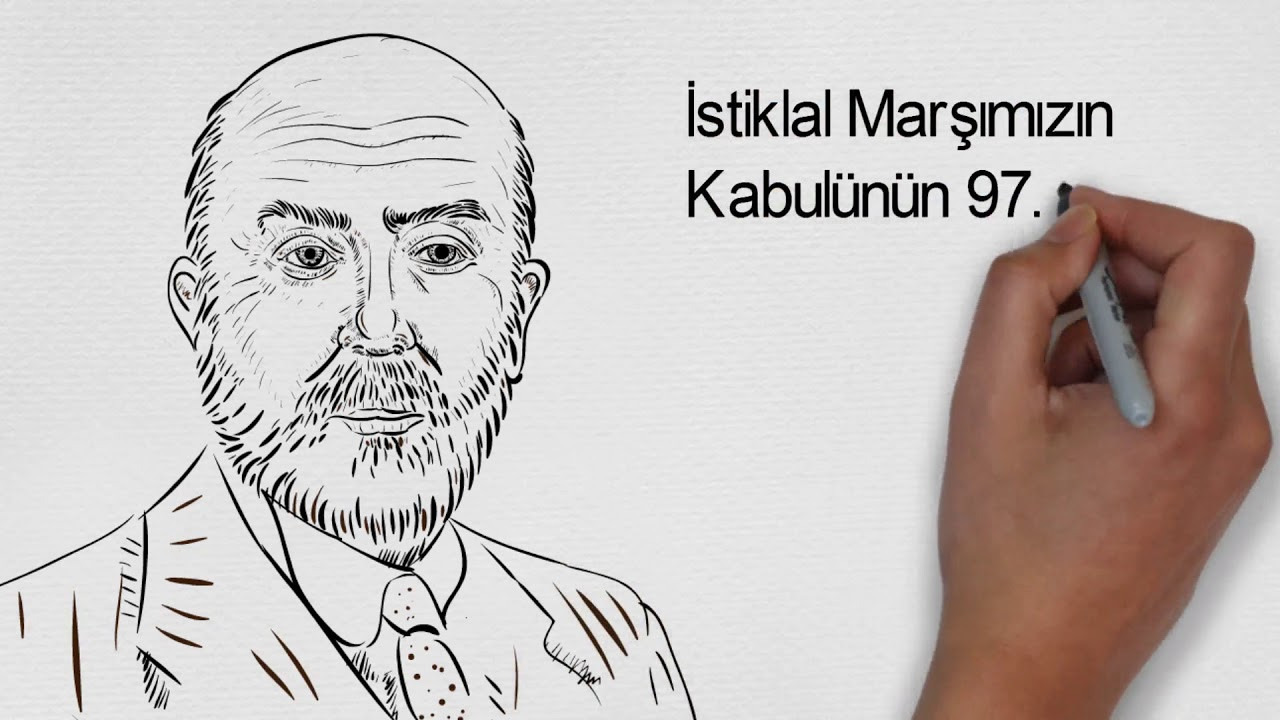Mehmet Akif Ersoy Whiteboard Animasyonu Youtube