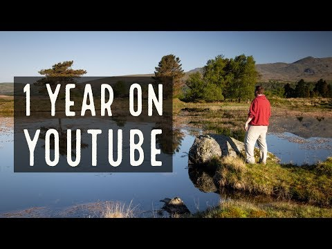 Lake District Landscape Photography - One Year on YouTube