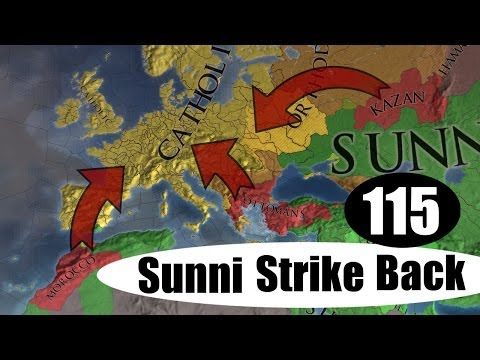 The Siege And Resiege Of France [115] Sunni Strike Back Kazan Multiplayer Europa Universalis 4