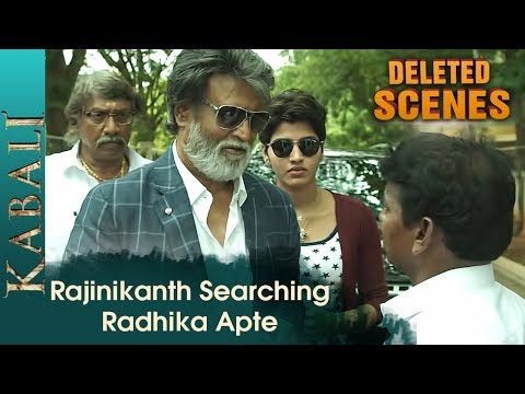 Rajinikanth in search of Radhika Apte | Kabali Deleted Scenes | Dhanshika | Pa Ranjith | V Creations