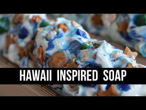 Hawaii-Inspired Soap (+ Rooster Hatred) | Royalty Soaps