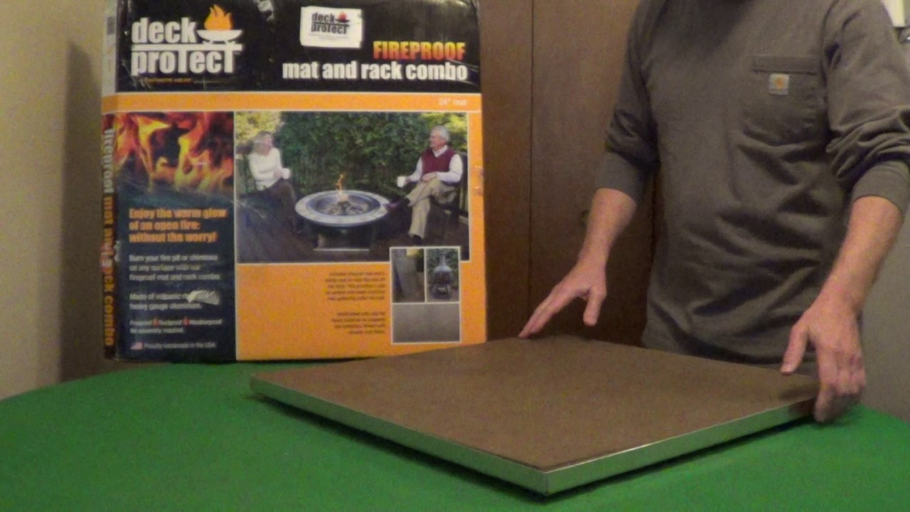 Fire Pit Mat | Outdoor Goods