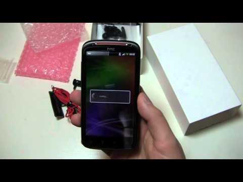 HTC Sensation XE Unboxing