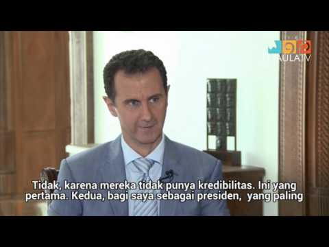 Siapa Penjahat Perang yang Sebenarnya Wawancara dengan Presiden Suriah, Bashar al Assad