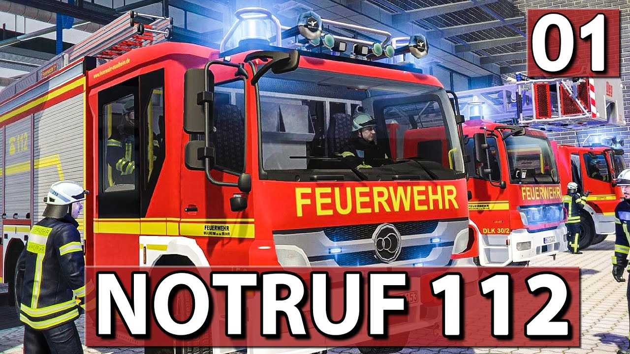 NOTRUF 112 #01 ▻ Die Feuerwehr Simulation ▻ Gameplay deutsch - YouTube