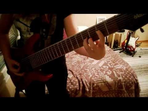 The Cure - Secrets guitar cover (8 String)