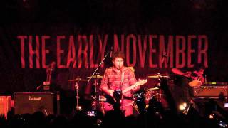 The Early November - Ever So Sweet (LIVE HD)
