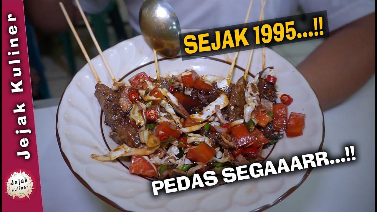 Sate Kecap Pedas + Mie Rebus || Sate Blora Rizki, Street Food - Kuliner Pinggir Jalan