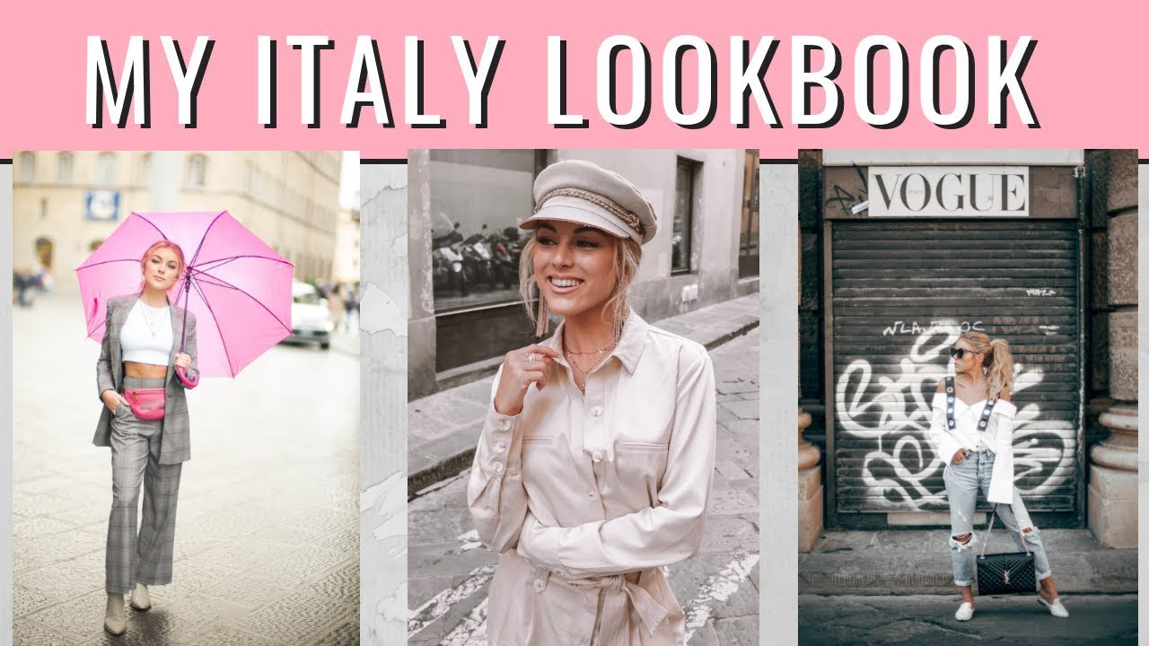 [VIDEO] - What I Wore in Italy   Fashion LookBook 2018 3