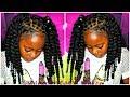 No Braid Crochets | Natural Kids Hair | Protective Styling