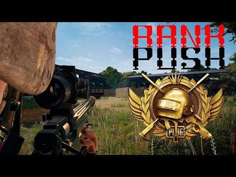 PUBG Mobile : Rank Push