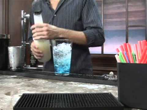 How To Make The Big Blue Sky Mixed Drink