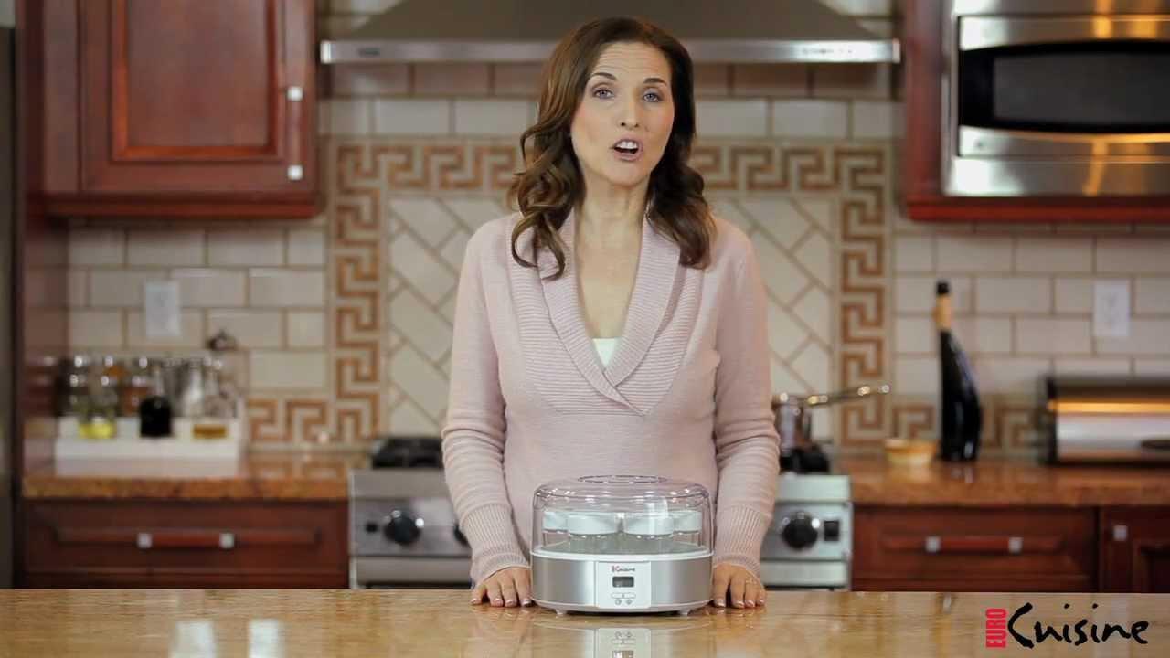 Euro Cuisine Yogurt Maker Model YMX650 - YouTube