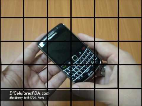 Parte 1 - Video Evaluacion de la BlackBerry Bold 9700
