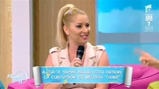 Letitia Moisescu &amp Sensibil Balkan - D A I N A ( Prietenii de la 11, Antena 1)